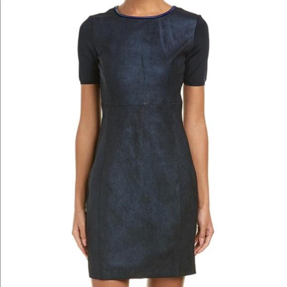 023b626b6042 Elie Tahari Dresses   Suede Sheath Dress   Poshmark